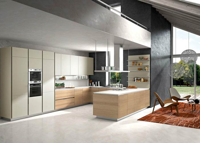 Introducing Way Snaidero S Newest Kitchen Cabinet Style